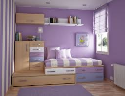 Purple Bedrooms For Girls Kids Room Adorable Purple Small Teen Room With White Wall Shelf