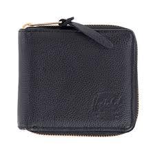 ハーシェル herschel 財布 walt leather classics leather wallets 10153 00004 os black pebble
