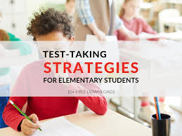 3 Test Taking Strategies For Elementary Students Includes