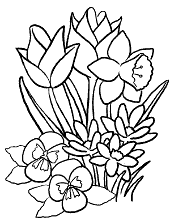 Drag the blocks from the outside to the inside to construct the image. Spring Coloring Pages Pictures Topcoloringpages Net