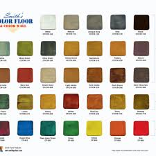 Color Charts Stonewall Architectural Concrete Llc