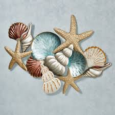 ocean collage metal wall art pertaining to current metal coastal wall art view 12 of on coastal tranquility metal wall art with 20 inspirations of metal coastal wall art