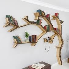 The Windswept Oak Tree Shelf - Bark Edged
