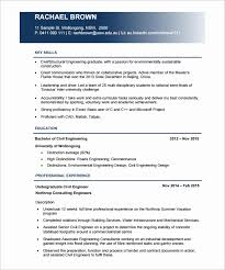Best Resume Format For Engineers Pdf Awesome Civil Engineer Resume