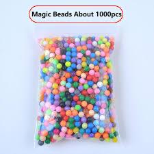 1000 шт./компл. 24 цвета 5 мм водяной спрей Aq Perlen <b>Magic</b> ...