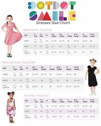 Dot Dot Smile Size Chart Dotdotsmile Size Chart Dot Dot Smile Boutique Clothing