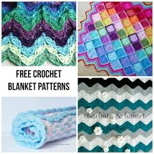 Free Crochet Blanket Patterns Gorgeous Cuddle Up To 48 Free Crochet Blanket Patterns OVCEMVD Crochet And Knit