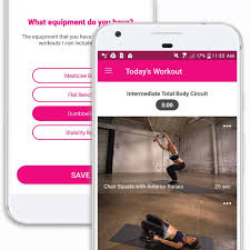 my fitness by jillian michaels on android and iphone