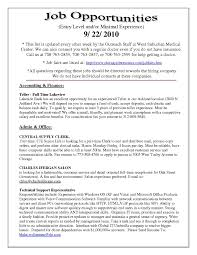 Resume For Bank Teller No Experience Free Resume Templates