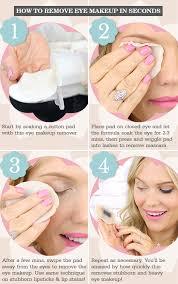 remove eye makeup with makeup remover