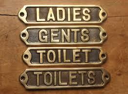 image is loading gents mens las womens toilets door signs