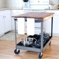kitchen island cart industrial. Industrial Kitchen Island Cart A