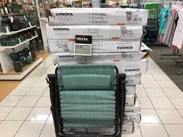 sonoma antigravity patio chairs only 33 99 earn kohl s cash the krazy lady