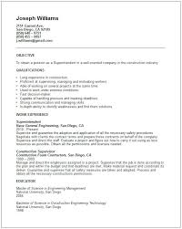 tradesman resumes resume templates construction sample tradesman superintendent resume