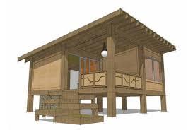 Modern One Bedroom Cottage Plans