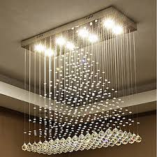 8 light chandelier downlight crystal bulb included designers 110 120v 220 240v warm white cold white bulb included gu10