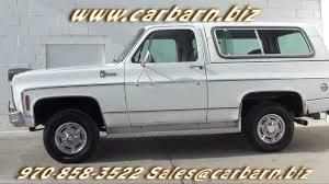 SOLD! - 1979 Chevy K5 Blazer Cheyenne 4x4 at Car Barn in Fruita ...