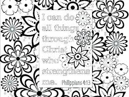 Christian Coloring Pages With Verses Free Adult Christian Coloring