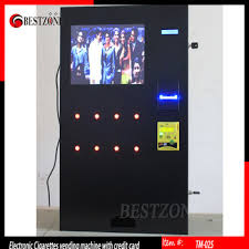 Electronic Cigarette Vending Machine Fascinating Electronic Cigarettes Vending Machines With Credit Card Buy