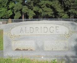 ALDRIDGE, PEARL - Columbia County, Arkansas   PEARL ALDRIDGE ...