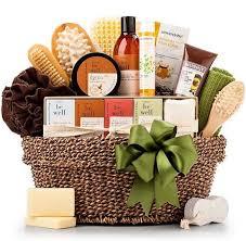 basket of natural toiletries