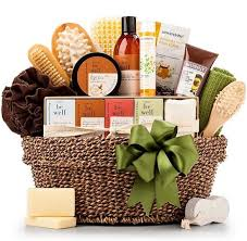 basket of natural toiletries