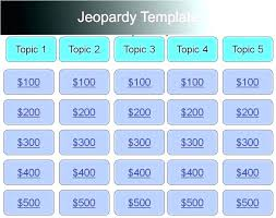 Jeopardy Game Powerpoint Template With Music Woodnartstudio Co