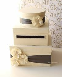 here is another great card box find on the fl and ribbon details create such an elegant look