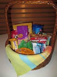 desert riviera hotel snack basket mmmmm