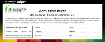 ticket sample template admission ticket template free download word templates for