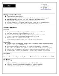 Job Experience Resume Template Best Of Sample Resume No Work