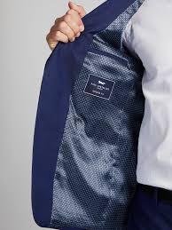 Eltham Royal Blue Slim Fit Wool Two Piece Suit Austin Reed