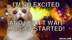 Surprised Space Cat Meme Generator - DIY LOL via Relatably.com