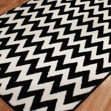firstclass black and white chevron rug nice decoration amazoncom