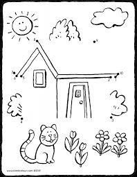 Huizen Kleurprenten Pagina 3 Van 4 Kiddicolour