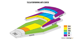 The Most Incredible Tulsa Pac Seating Chart Seating Chart