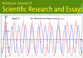 american journal of scientific research and essays issn