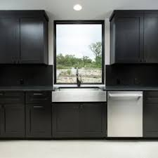 Contemporary Inspiration For Large Contemporary Lshaped Eatin Kitchen In Austin With Houzz 75 Most Popular Luxury Black Kitchen Design Ideas For 2019 Stylish