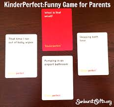 kinderperfect cards against humanity for pas