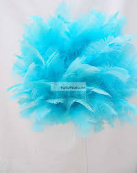 Decorative Feather Balls Cool Tiffany BlueAqua Feather Balls Rose Balls Wedding Centerpieces