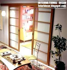 glass door with wooden frame interior sliding wood doors sliding glass door with wooden frame for