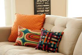 sofas center  large sofa pillows cool owl pillow back yellow