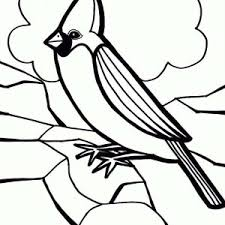 Small Picture C is for Cardinal Bird Coloring Page Coloring Sun