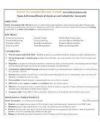 Accounting Resume Samples Unique Resume Examples For Accounting Llun