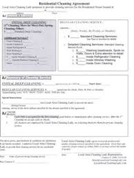 sample cleaning contract agreement contract for services agreement sample janitorial contract