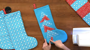 sew christmas stocking.  Christmas Inside Sew Christmas Stocking YouTube