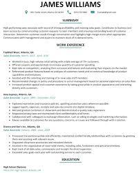 Retail Sales Associate Resume Objective Job Description For