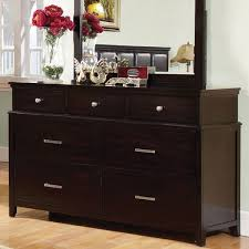 Bedroom  2017 Linden Transitional Style Espresso Finish Bedroom Dresser  Bedroom Dressers Mirrors Used Bedroom Dressers For Sale Black Bedroom  Dressers For