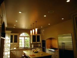 kitchen lighting 6 led recessed 4 pot lights best inch spacing