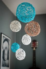 Make Decorative String Balls New Copeland's Colorful Nursery Crafty Things Pinterest Yarn Ball